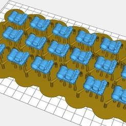 18 Meatshield Backpacks.jpg Download free STL file 28mm 40K Infantry Backpack/Rucksack • 3D printing template, johnbearross