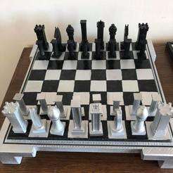 1.jpg Télécharger fichier STL gratuit Jeu d'échecs complet • Design pour imprimante 3D, Livai_aniki