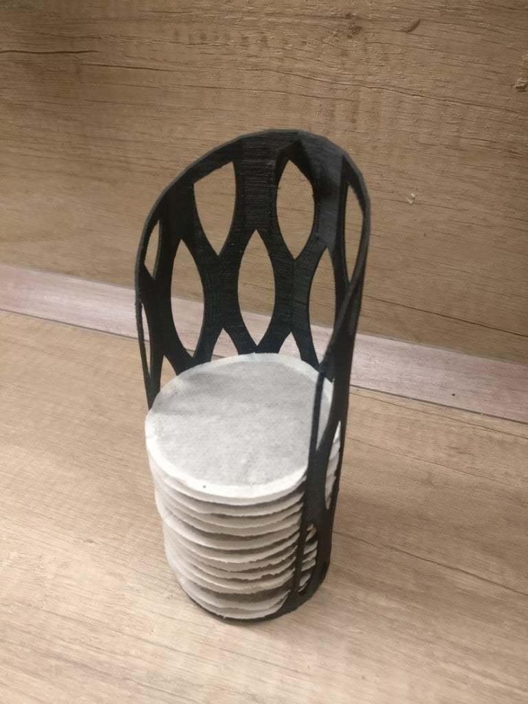 IMG_20200212_211538_Groß.jpg Télécharger fichier STL gratuit Porte-tampon à café Senseo 17x7cm • Modèle à imprimer en 3D, emzeh