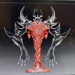 919e3adb3b607b29bea638e0cc7b585a.0.jpg Download STL file SHADOW FIEND - DOTA 2 • 3D printer template, SebasArevalo1