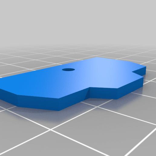 Armada_prime_battery_cover.png Download free STL file Armada Optimus replacement parts • 3D printable template, Tfpivman
