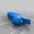 Armada_prime_super_mode_fins.png Download free STL file Armada Optimus replacement parts • 3D printable template, Tfpivman