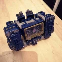 EdWFOSWXoAAhW6G.jpg Download free OBJ file Transformers WFC Siege Soundwave add ons • 3D printing template, Tfpivman