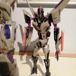 EdD5l9_XoAIF_zZ.jpg Télécharger fichier OBJ gratuit Transformers Prime Deluxe Starscream Missiles • Plan pour impression 3D, Tfpivman