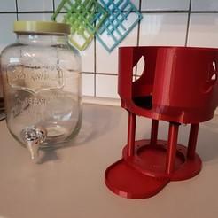 Descargar diseños 3D gratis Soporte para dispensador de bebidas, mib1008