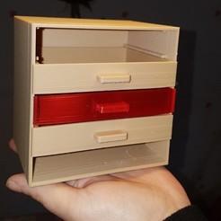 Descargar modelo 3D gratis Pequeño gabinete, mib1008