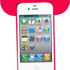 Télécharger objet 3D gratuit Souris rose avec un support, jessicamalvassora