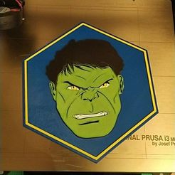 Download free STL file HULK PLATE • Template to 3D print, posibil3dhades