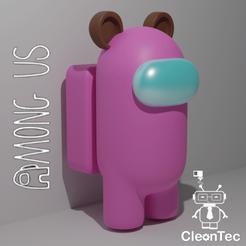 Descargar archivo STL AMONG US ( Oso) • Objeto para impresión 3D, Cleontec_EC
