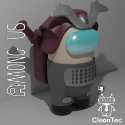Download STL file Among Us (Samurai and Siren) • Design to 3D print, Cleontec_EC