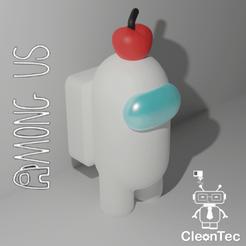 Descargar archivo STL AMONG US (Manzana) • Modelo para la impresora 3D, Cleontec_EC