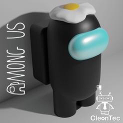 amongus_Huevo.png Download STL file AMONG US ( Fried Egg ) • Model to 3D print, Cleontec_EC