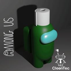 Amongus_6_2.png Download STL file AMONG US ( Toilet Paper ) • 3D printable design, Cleontec_EC
