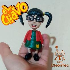 photo_2020-10-13_23-53-22.jpg Download STL file Chilindrina (Chavo del 8) • Model to 3D print, Cleontec_EC