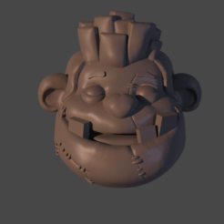 PUDGE cABEZA.png Download free STL file Pudge Person Keychain (DOTA 2) • Object to 3D print, Cleontec_EC