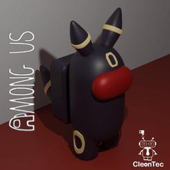 amongusUS_Pokemon_Umbreon.png Download STL file AMONG US ( POKEMON UMBREON ) • 3D printing template, Cleontec_EC