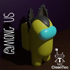 Lobo.jpg Download STL file AMONG US ( Wolf ) • 3D print object, Cleontec_EC