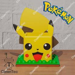 photo_2020-09-21_12-25-11.jpg Download STL file Pokemon pot (Pikachu) • 3D printing model, Cleontec_EC