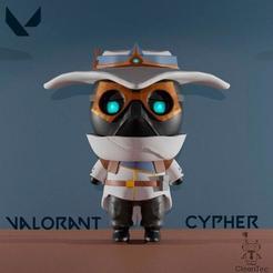 photo_2020-08-15_12-39-57.jpg Télécharger fichier STL Cypher-Valorant • Objet à imprimer en 3D, Cleontec_EC