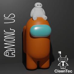 Descargar archivo STL AMONG US ( Baymax) • Objeto para impresora 3D, Cleontec_EC