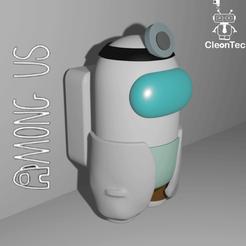 Descargar archivo STL AMONG US ( Doctor) • Diseño imprimible en 3D, Cleontec_EC