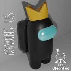 Among_Corona.png Download STL file AMong Us (Crown) • 3D printing template, Cleontec_EC