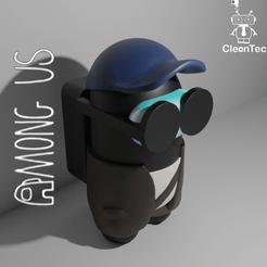 Descargar archivo STL AMONG US ( Gafas) • Objeto para impresora 3D, Cleontec_EC