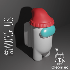 Amongus_9.png Download STL file AMONG US (Wool Hat) • 3D printing object, Cleontec_EC