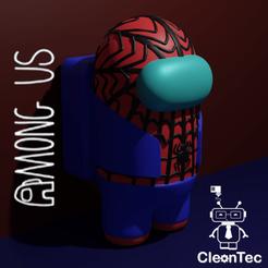 Among_Us_Spiderman.png Télécharger fichier STL entre nous ( Spiderman ) • Design à imprimer en 3D, Cleontec_EC