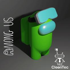 Amongus_7_2.png Download STL file AMONG US ( Sky Glasses ) • 3D printing template, Cleontec_EC
