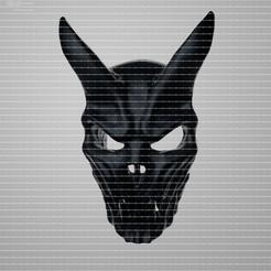 Mascara0000.jpg Télécharger fichier OBJ Masque Kid Of Darkness • Design pour impression 3D, ianleonardo19