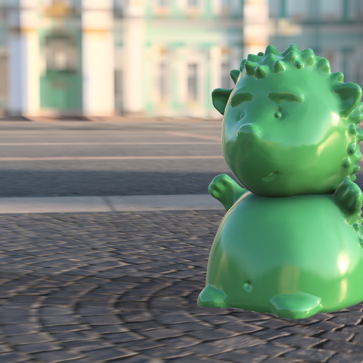 Hedgy_hog.png Download free STL file Hedgehog Hedgy • Model to 3D print, K_Shamil
