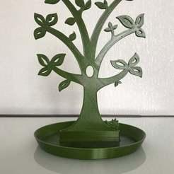 199A169D-BC03-4ECB-BBBC-90BC36826568.jpeg Download free STL file Jewellery tree • 3D printer template, K_Shamil