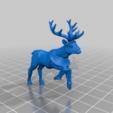 Download free STL file Foxmen: Armoured Deer Miniature • 3D printing template, Ilhadiel