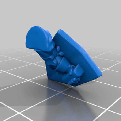left_arm_v3.png Download free STL file Dwarf Knight Goat Cavalry Miniatures • 3D print object, Ilhadiel