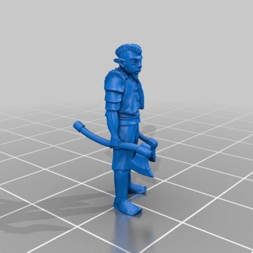 e193285c5ebddc883f7b3ef10ae538c5.png Download free STL file Gnome Warrior Miniature • 3D print template, Ilhadiel