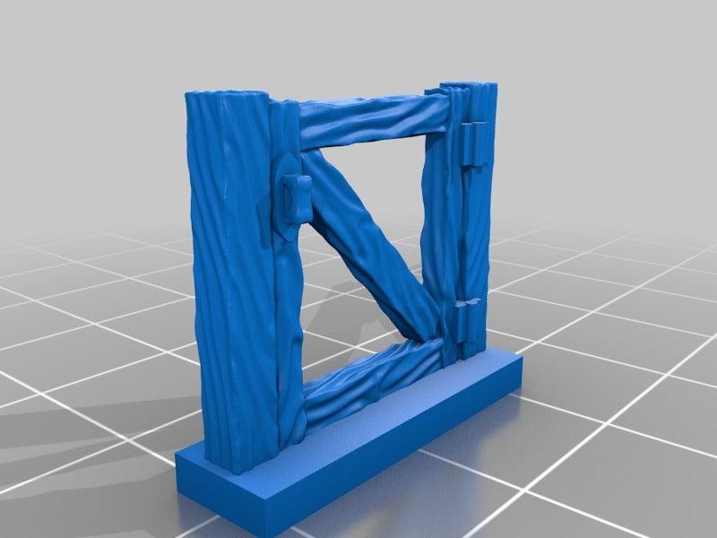 0cffb97522f953107f4669934372f012.png Download free STL file Fence miniatures • 3D printing model, Ilhadiel
