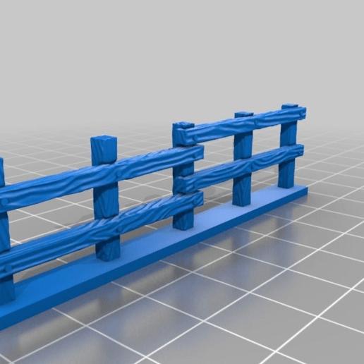 796f5a30069697ed6bac9f5456b5fb62.png Download free STL file Fence miniatures • 3D printing model, Ilhadiel
