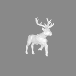 Download free 3D print files Foxmen: Armoured Deer Miniature, Ilhadiel