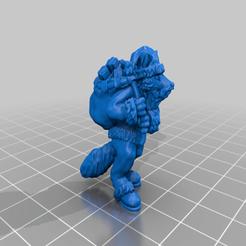 Fox_santa.png Télécharger fichier STL gratuit Père Noël renard • Design pour imprimante 3D, Ilhadiel