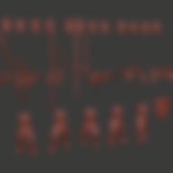 Télécharger STL gratuit Hommes d'armes miniatures (nouvelle version), Ilhadiel
