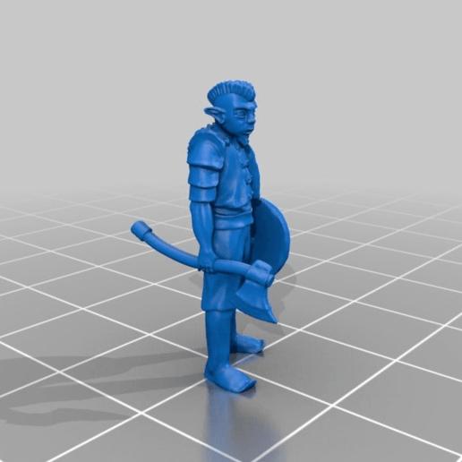 28c3f32ec7fb1589aab480f4fb081163.png Download free STL file Gnome Warrior Miniature • 3D print template, Ilhadiel