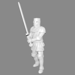 Download free STL file Knight Miniature, Ilhadiel