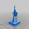 adaefb28345d74dcaf99be4b621987b8.png Télécharger fichier STL gratuit Skeleton Spearmen Miniatures verion #2 • Plan pour imprimante 3D, Ilhadiel