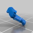 left_arm_v3.png Télécharger fichier STL gratuit Infatrie des elfes / Miniatures des lanciers • Plan imprimable en 3D, Ilhadiel