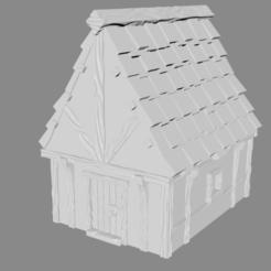 Descargar Modelos 3D para imprimir gratis Leñador Cottage miniatura, Ilhadiel