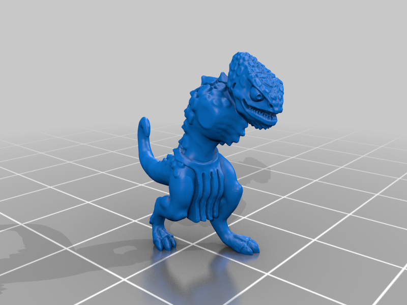 body_v3.png Télécharger fichier STL gratuit Miniatures de guerriers caméléons • Design à imprimer en 3D, Ilhadiel