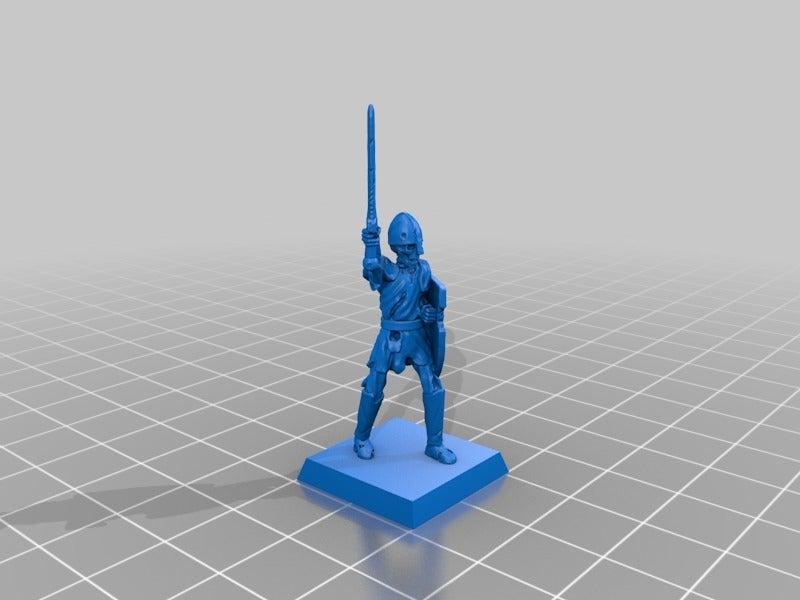 08ac5b001e97b48cce0b43c8c5a89529.png Télécharger fichier STL gratuit Skeleton Warrior Miniature version #2 • Design pour impression 3D, Ilhadiel