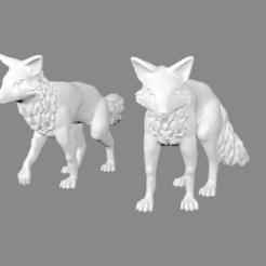 War_Foxes_pic_thingiverse.png Télécharger fichier STL gratuit Foxmen : Renards de guerre miniatures • Plan imprimable en 3D, Ilhadiel