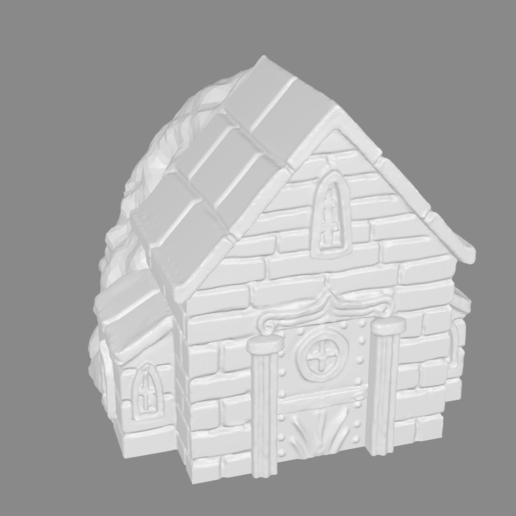 Télécharger fichier STL gratuit Crypte miniature • Design pour imprimante 3D, Ilhadiel